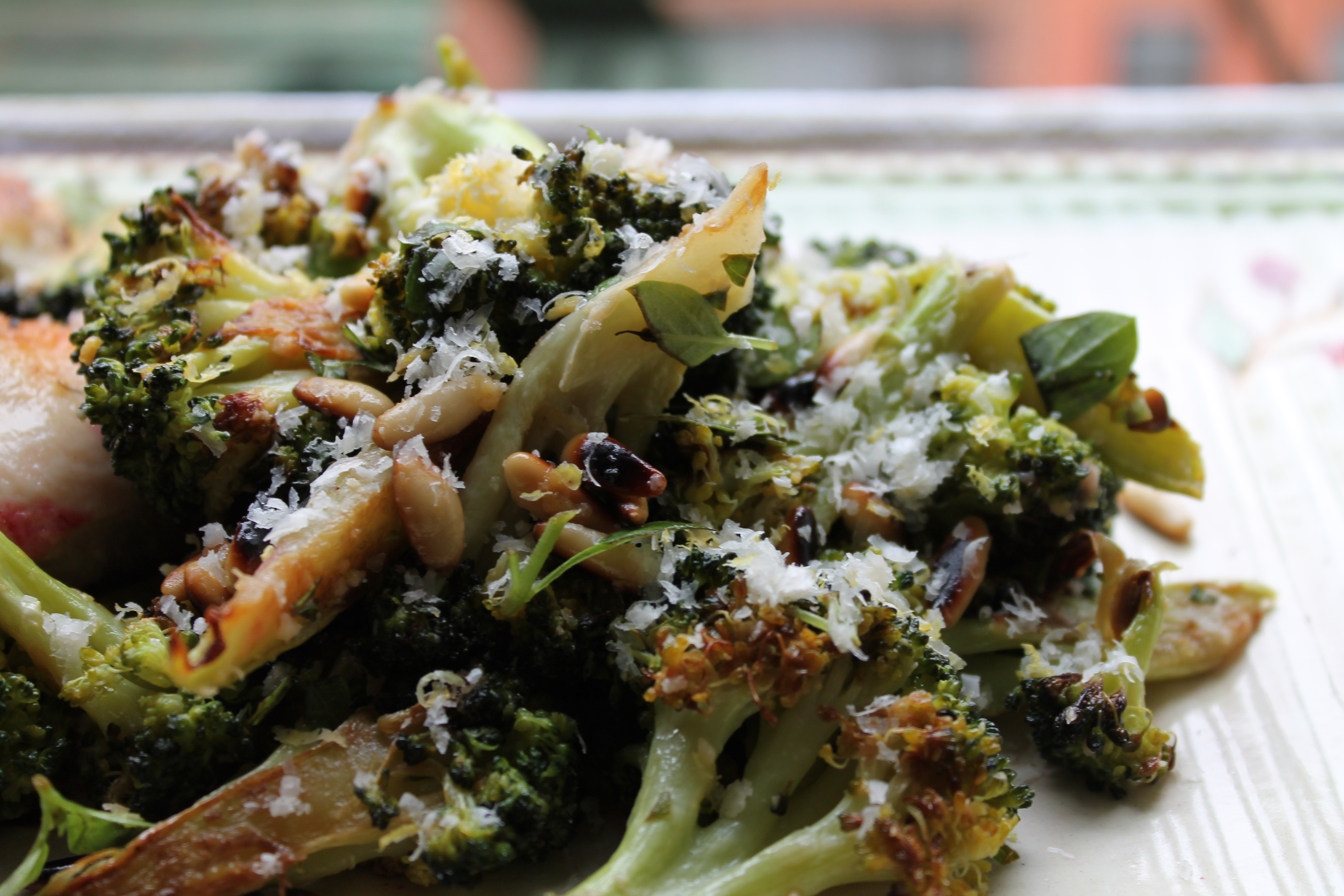 ... Broccoli with Parmesan, Lemon, Basil and Pine Nuts | penthouse kitchen
