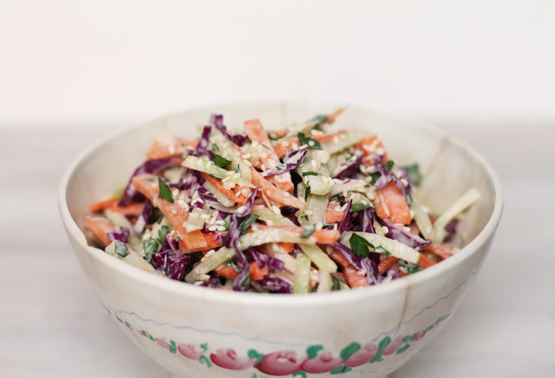broccoli slaw, broccoli