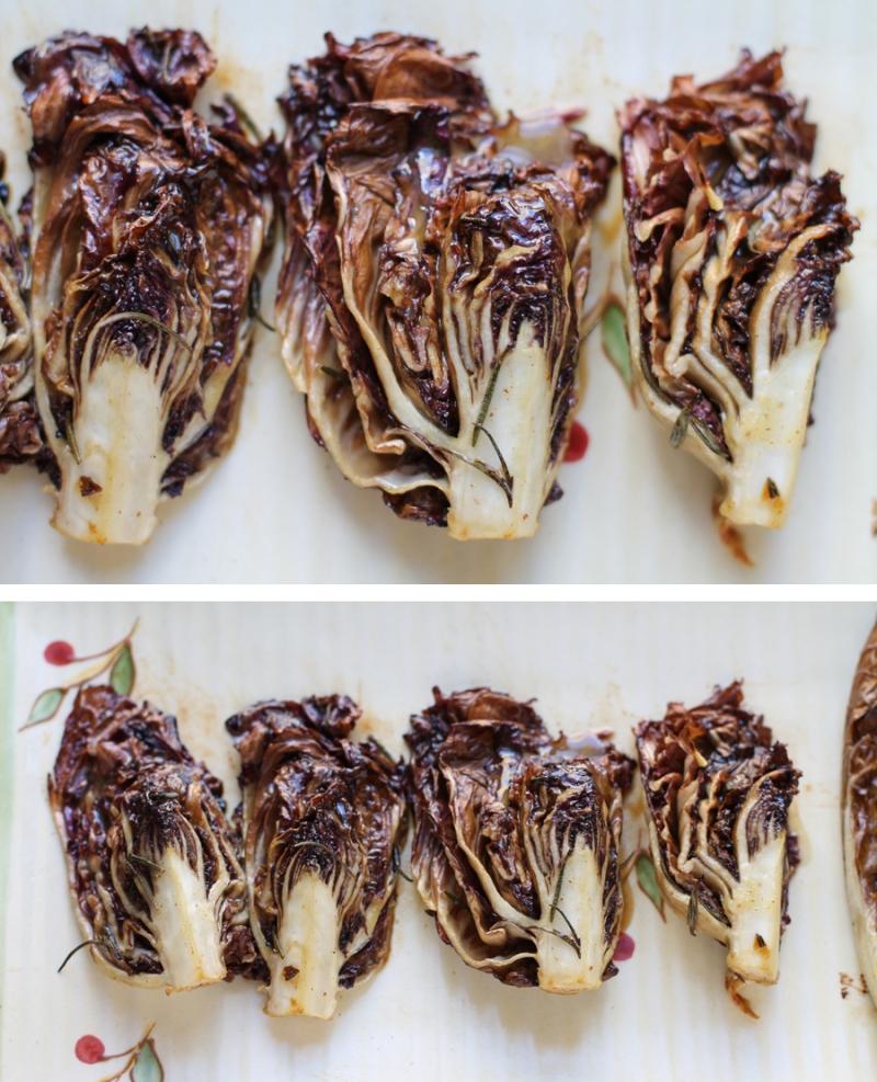 radicchio, roasted radicchio