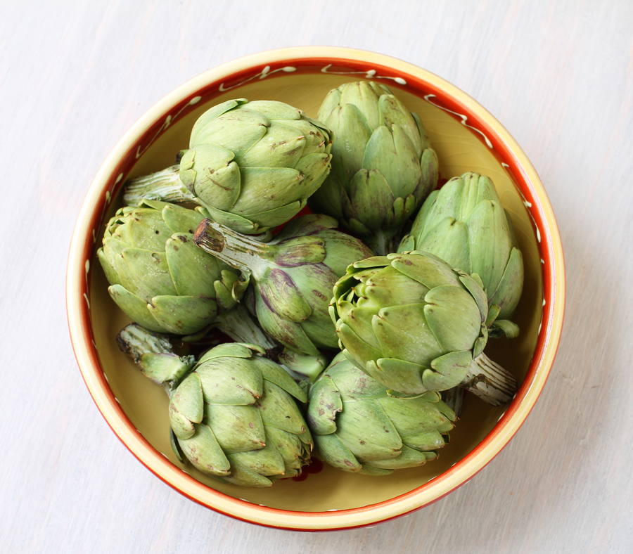 Roasted Baby Artichokes | penthouse kitchen