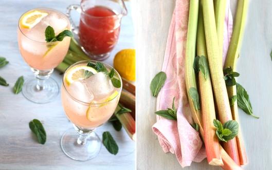 rhubarb, rhubarb cocktail