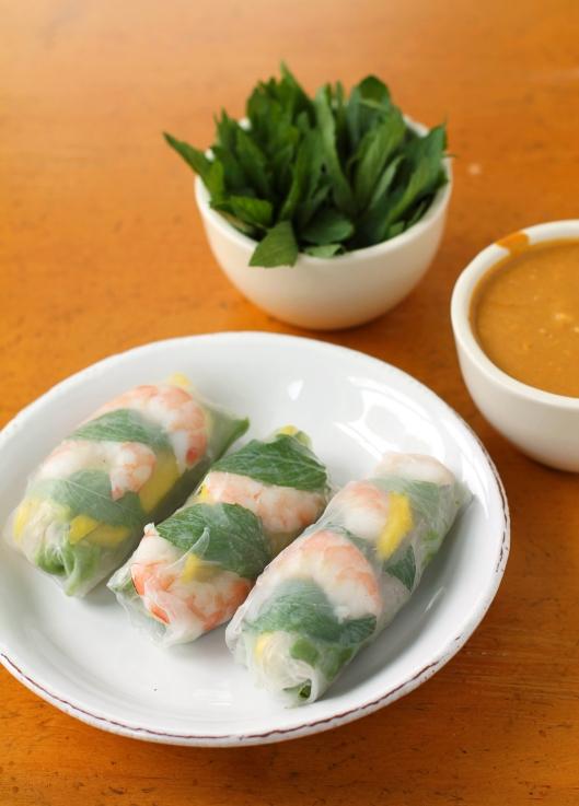 Vietmamese Summer Rolls, summer rolls, vietnamese spring rolls, vietnamese food